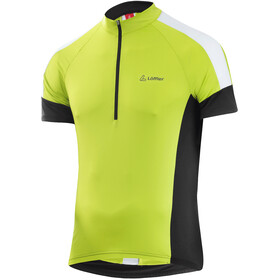 Löffler Pace Maillot de cyclisme Demi-zip Homme, light green
